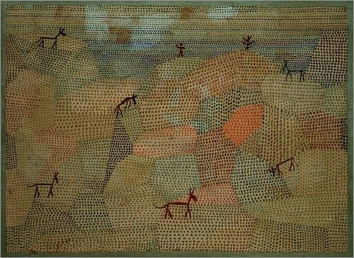 paul_klee_landscape_with_donkeys